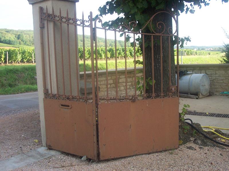 peinture portail 01 peinture portail fer lyon peinture portail bois 71